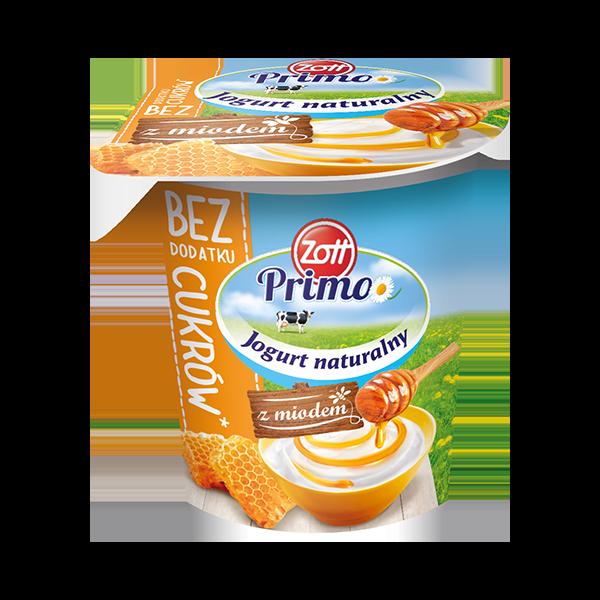 Jogurt Naturalny z miodem