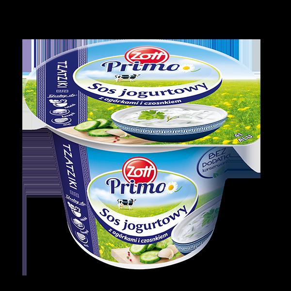 Sos jogurtowy tzatziki