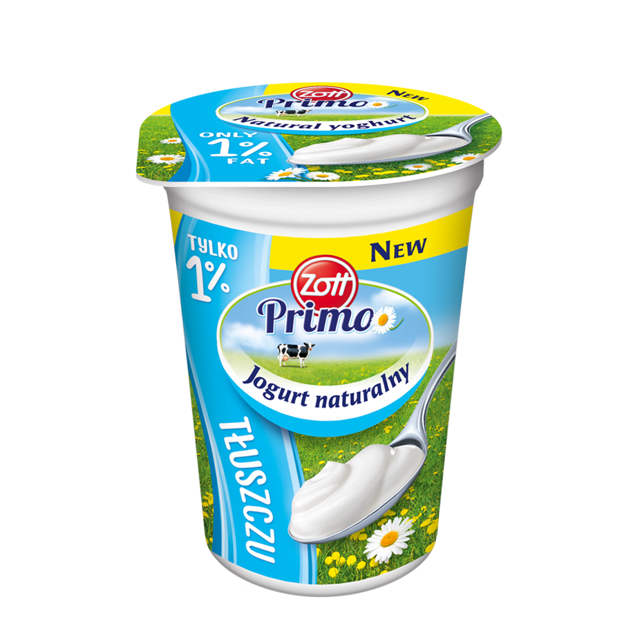 Natural yoghurt 1%